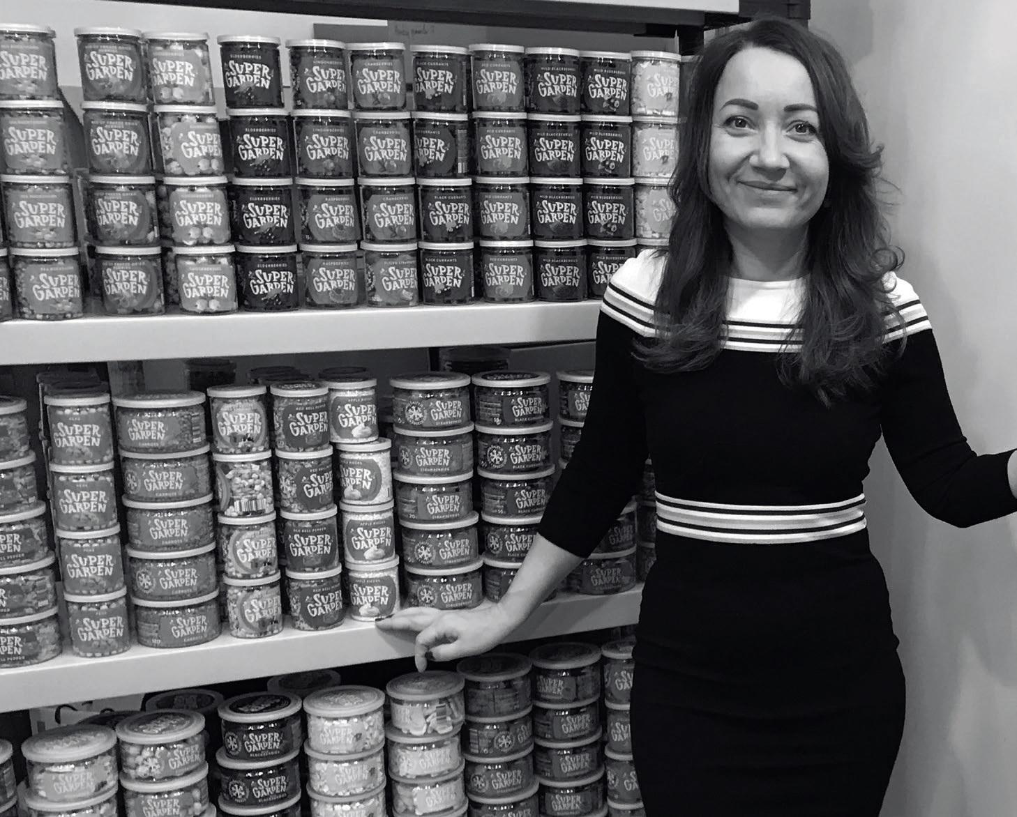 """Įmonės """"Geld Baltic"""", valdančios prekės ženklą """"Supergarden"""", vadovė Laura Kaziukonienė"""