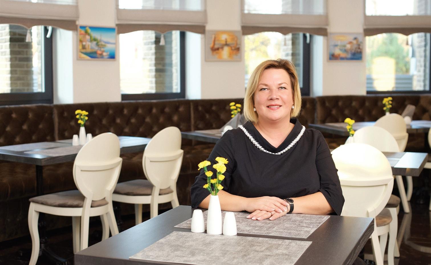 Restorano vadovė Kristina Chatkevičienė