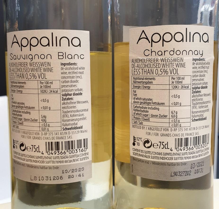 Nealkoholinio vyno etiketėje privaloma nurodyti gėrimo sudėtį