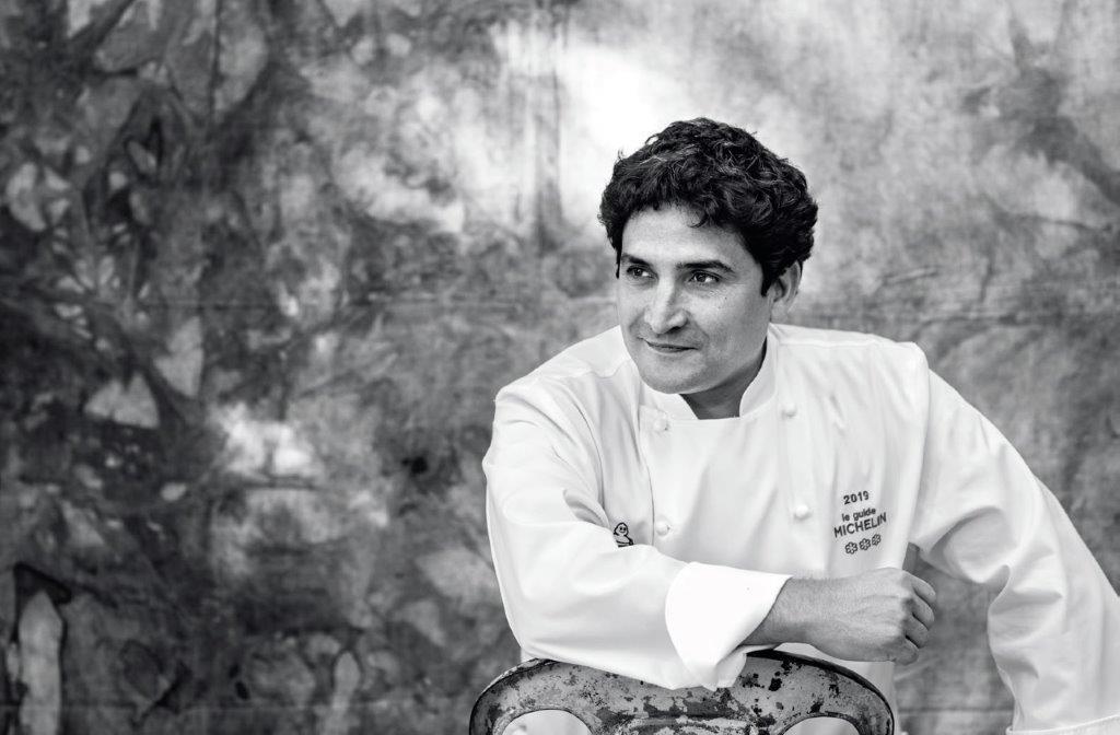 Mauro Colagreco, Matteo Carassal nuotr.