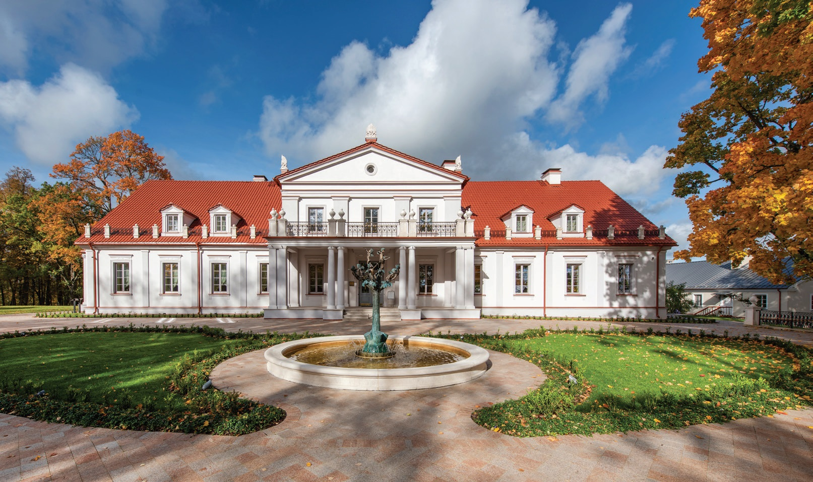 Ilzenbergo dvaro rūmai. Ilzenbergo dvaro archyvo nuotr.