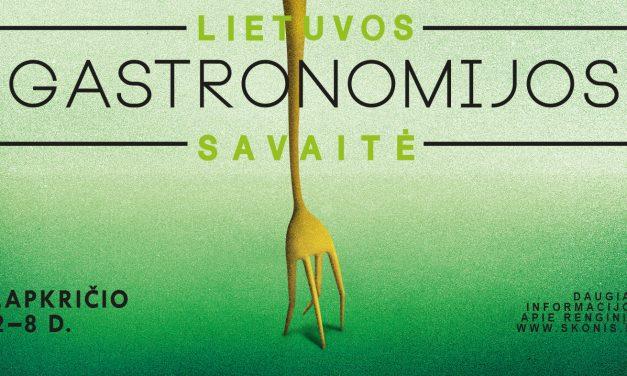 Aštuntoji Gastronomijos savaitė – jau lapkritį