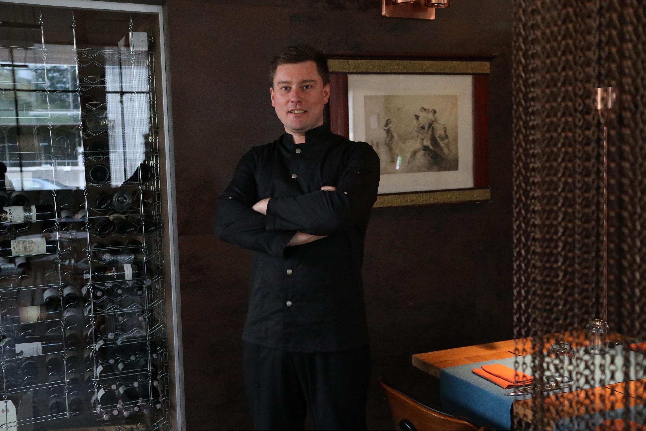 Virtuvės šefas Artūras Butkūnas