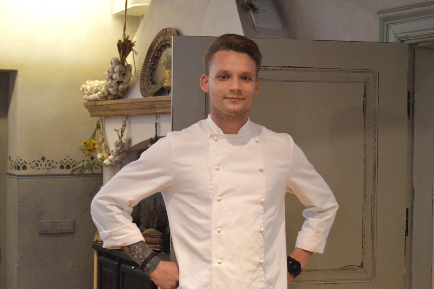 Virtuvės šefas Artūras Rakauskas