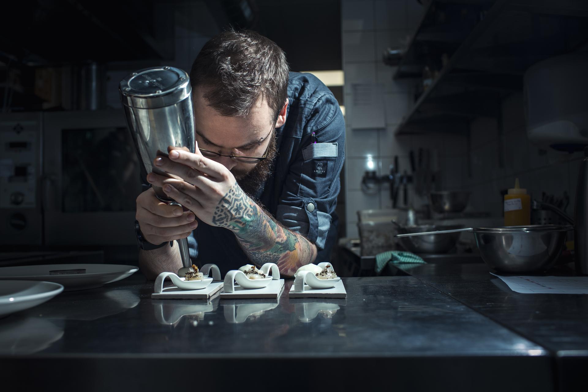 Virtuvės šefas Gabrielius Zajac