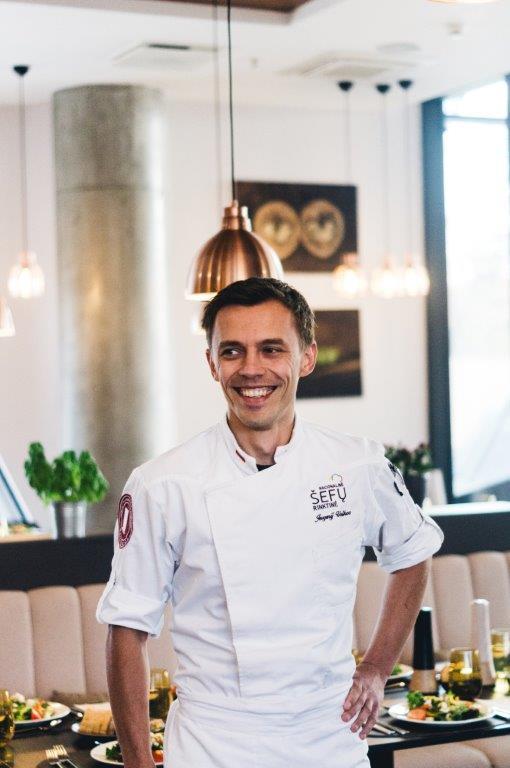 Virtuvės šefas Jevgenij Volkov