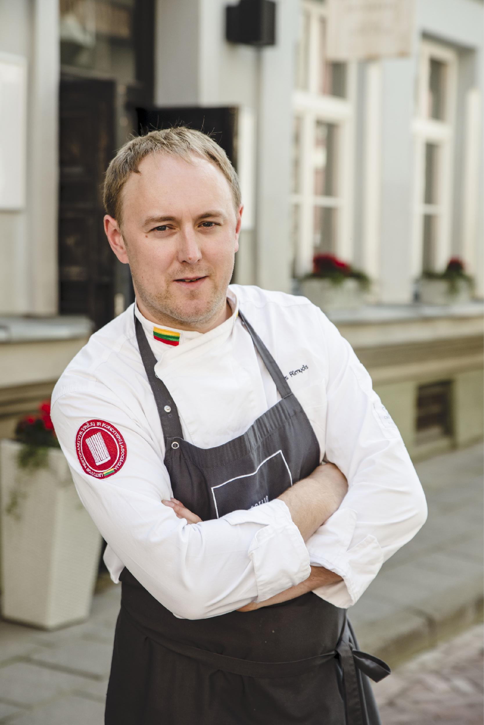 Virtuvės šefas Tomas Rimvydis