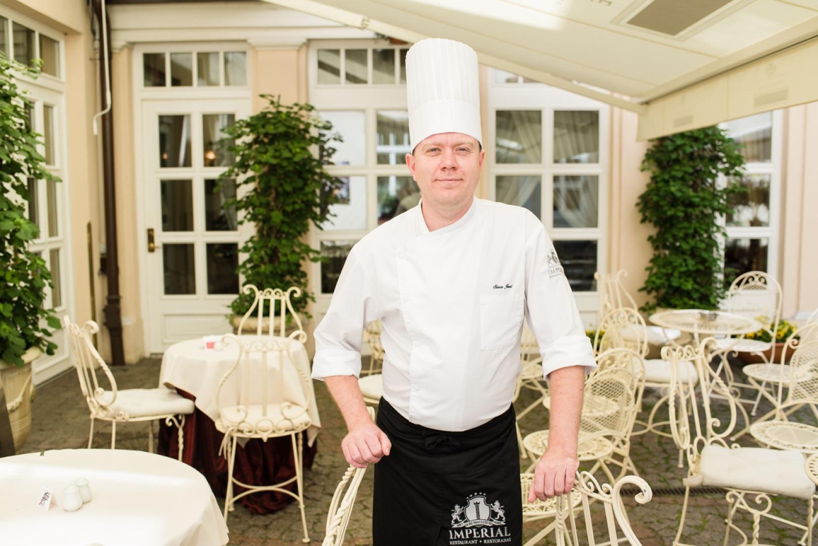 Virtuvės šefas Viačeslav Janč
