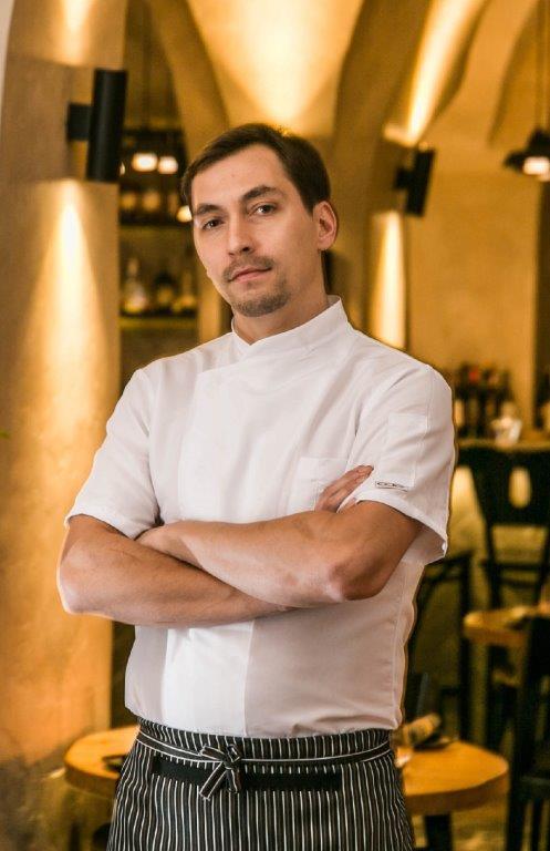 Virtuvės šefas Vilius Ručinskas