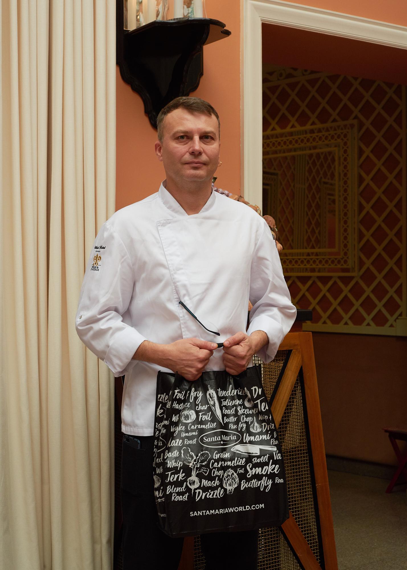 Stiklių virtuvės šefas Rytis Kairys
