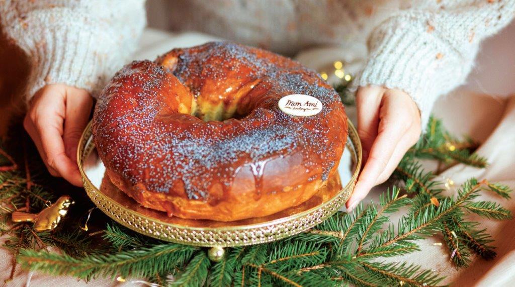 """""""Mon Ami"""" kepyklėlės visų labai mėgstamas sluoksniuotas aguonų pyragas"""