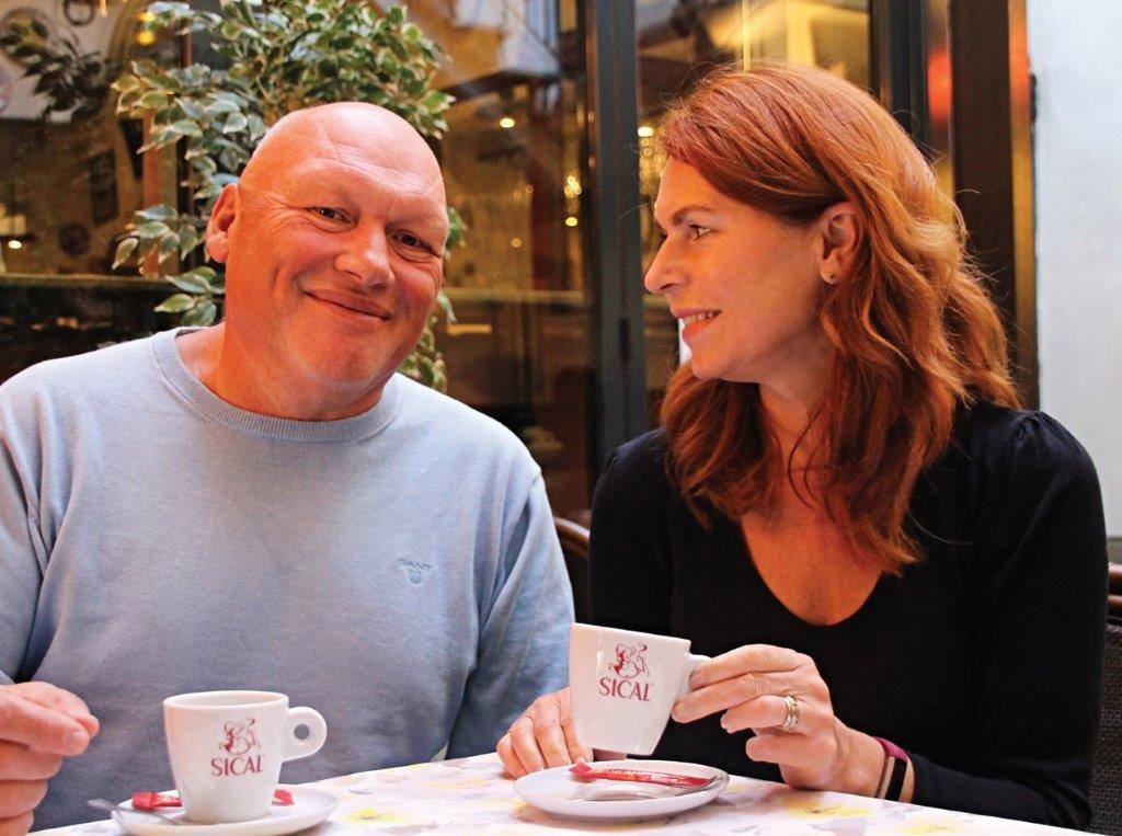 Arvydas Valeika su žmona Žuljeta