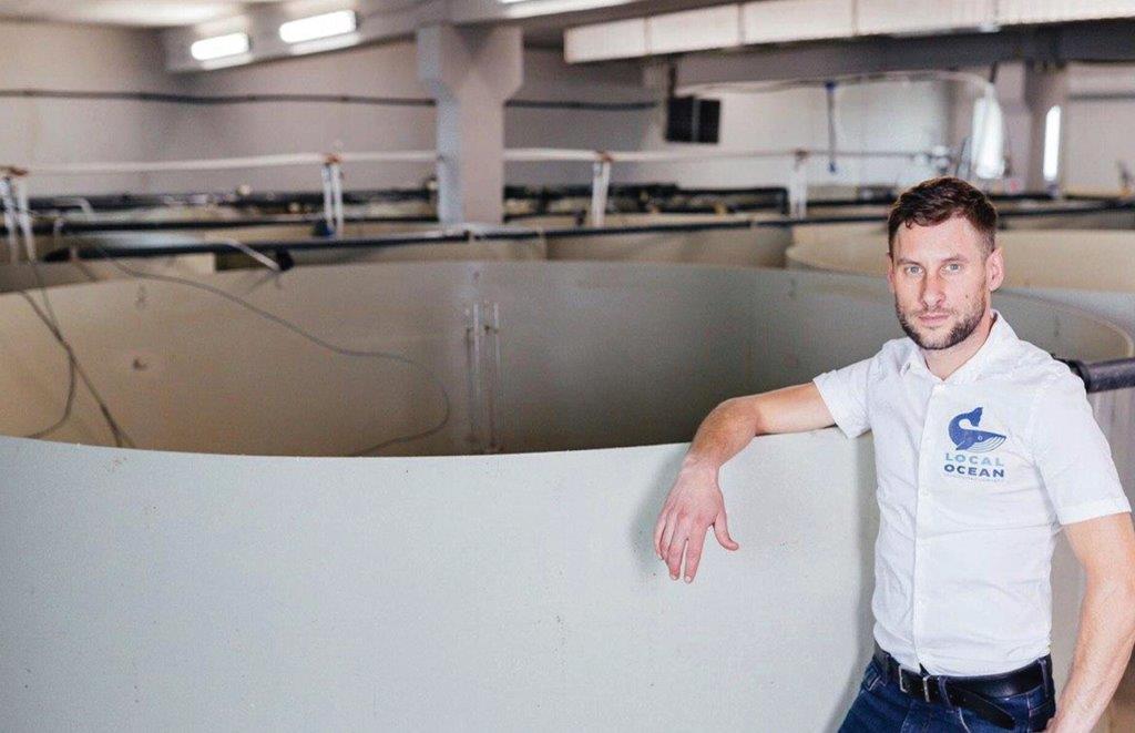 """Vienas iš """"Local Ocean"""" įkūrėjų ir ūkio direktorius p. Algirdas Krupskis"""
