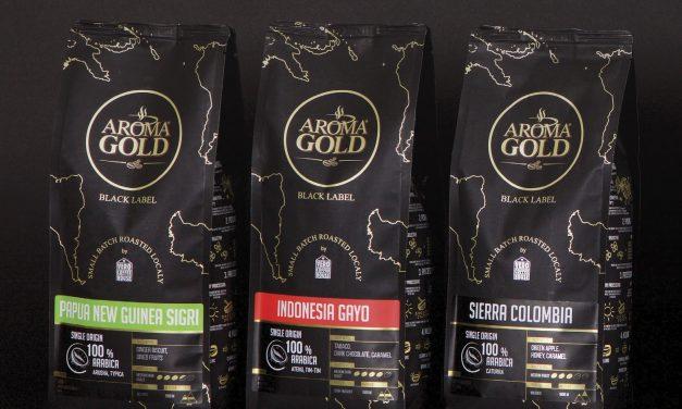 """AROMA GOLD """"Black Label"""" – kavos pasaulis jūsų puodelyje!"""