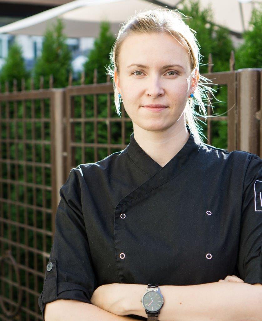 Virtuvės šefė Inga Turminienė
