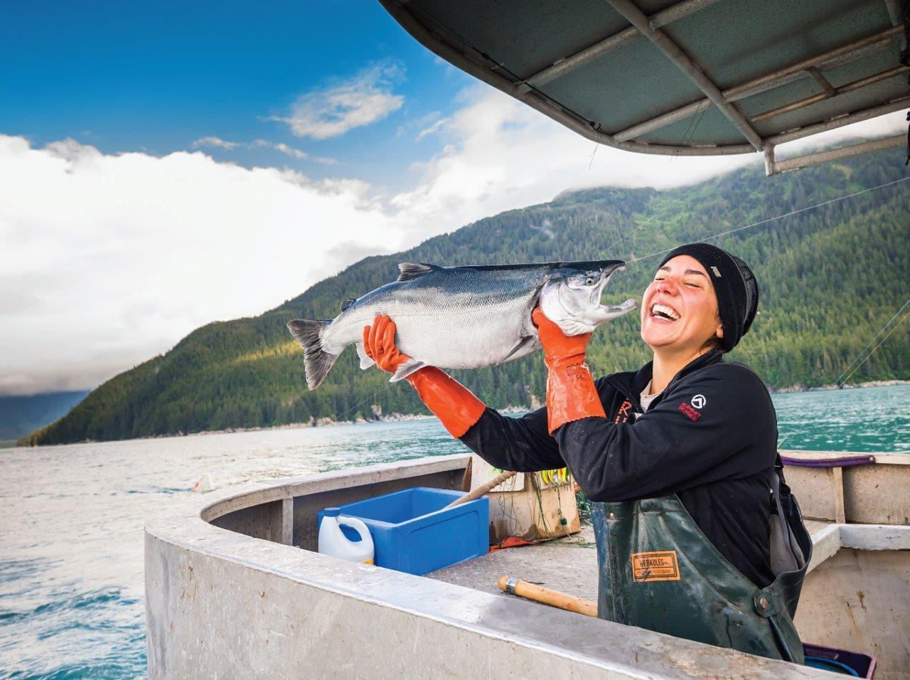 Aliaskos regionas išskirtinis ne tik dėl natūralios gamtos, bet ir dėl tvarios žvejybos, kuri leidžia išsaugoti unikalias natūralios gamtos išaugintas laukines regiono žuvis