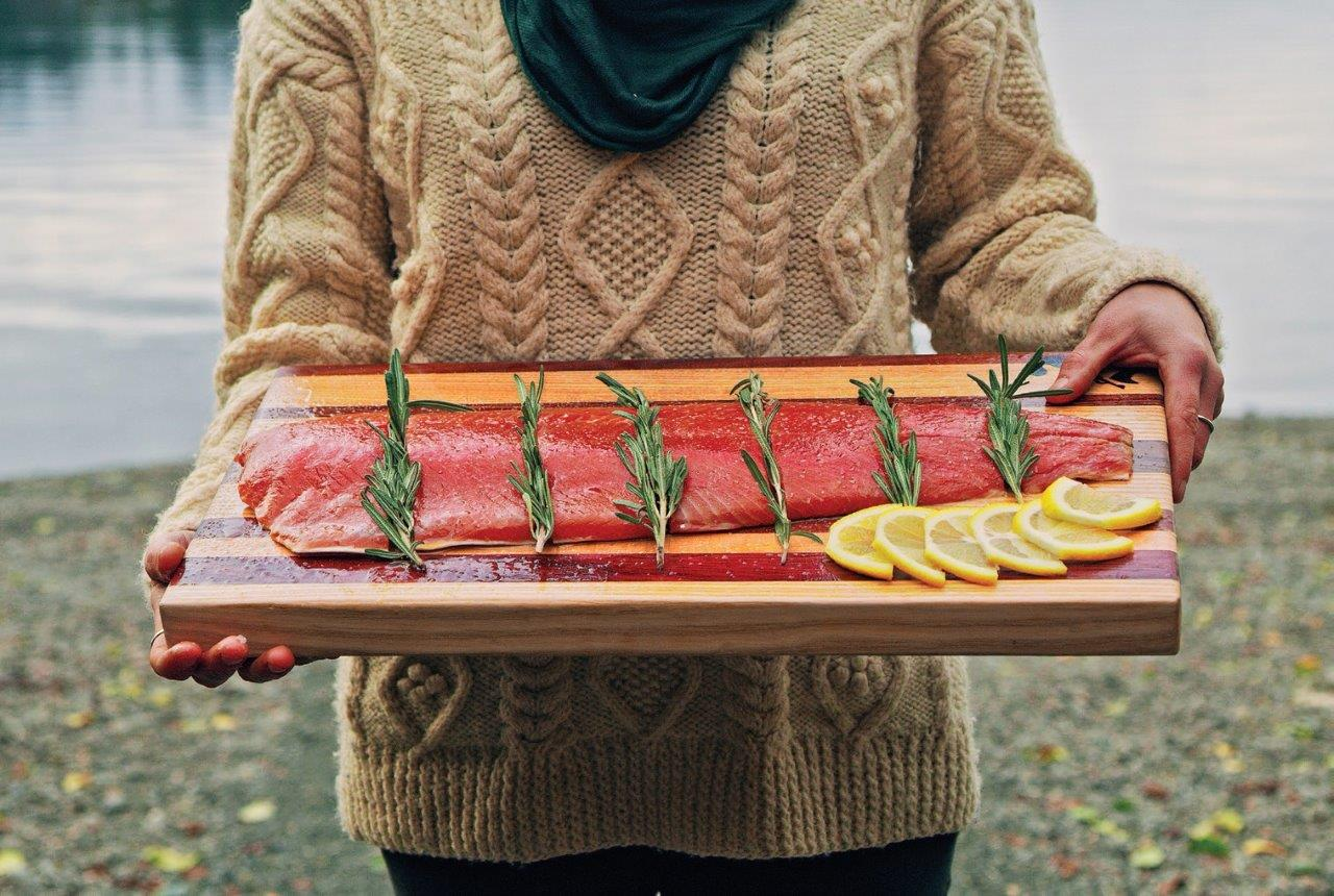 Populiarios Europoje Aliaskos raudonosios lašišos filė