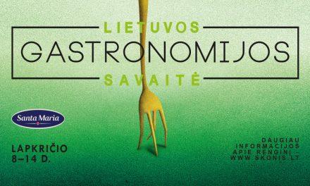 Dešimtoji Lietuvos gastronomijos savaitė – jau šį lapkritį